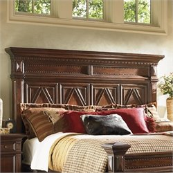 Lexington Fieldale Lodge Pine Lakes Headboard in Brown Mahogany - King / California King