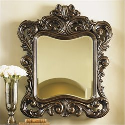 Lexington Florentino Bellini Mirror in Dark Walnut