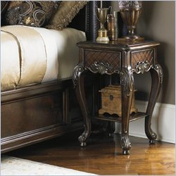 Lexington Florentino Siena Night Table in Dark Walnut