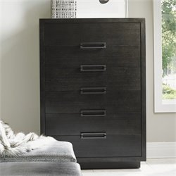 Lexington Carrera Arnage 6 Drawer Wood Chest in Carbon Gray