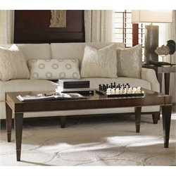 Lexington Tower Place Wheaton Wood Coffee Table in Walnut