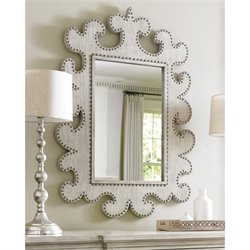 Lexington Oyster Bay Hempstead Decorative Wall Mirror in Oyster