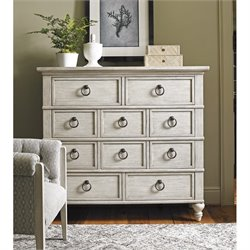 Lexington Oyster Bay Fall River 10 Drawer Chest in Oyster