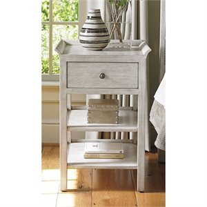 Lexington Oyster Bay Pelham 1 Drawer Nightstand in Oyster