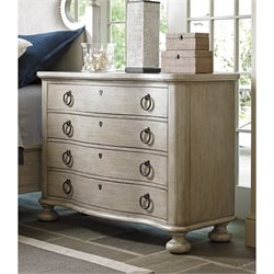 Lexington Oyster Bay Bridgeport 4 Drawer Bachelor Chest in Oyster
