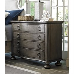 Lexington Oyster Bay Bridgeport Bachelor's Chest in Pelican Gray