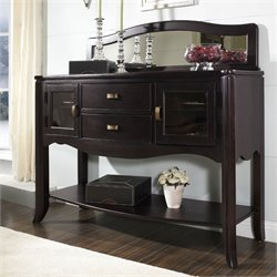 Somerton Signature Server in Dark Merlot