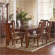 Somerton Dwelling Runway Contemporary 7 Piece Dining Set