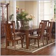 Somerton Dwelling Runway Contemporary 9 Piece Dining Set