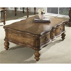 Somerton Melbourne Coffee Table in Medium Brown