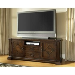 Somerton Villa Madrid TV Stand in Dark Walnut