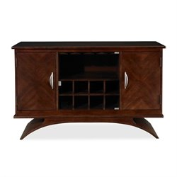 Somerton Dwelling Cirque Contemporary Server in Merlot