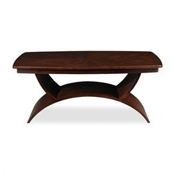 Somerton Dwelling Cirque Cocktail Table in Merlot