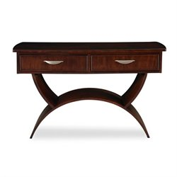 Somerton Dwelling Cirque Sofa Table in Merlot