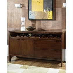 Somerton Manhattan Dining Server in Brown Walnut