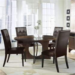 Somerton Dwelling Manhattan Modern Art 5 Piece Dining Set