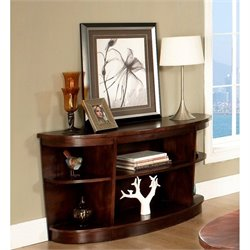 Somerton Dwelling Montecito Sofa Table in Warm Brown