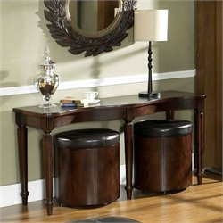Somerton Dwelling Morgan Sofa Table in Deep Brown