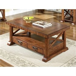 Somerton Barrington Coffee Table in Satin Brown