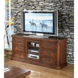 Somerton Barrington TV Stand in Satin Brown