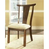 Somerton Dwelling Dakota Side Chair in Rich Brown