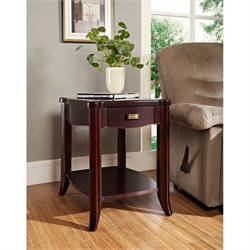 Somerton Signature Side Table in Dark Merlot