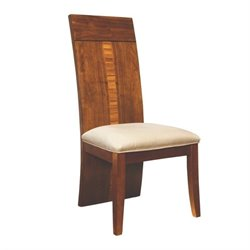 Somerton Milan Side Chair in Polished Brown