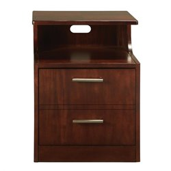 Somerton Studio File Cabinet in Mid Tone Brown Mahogany