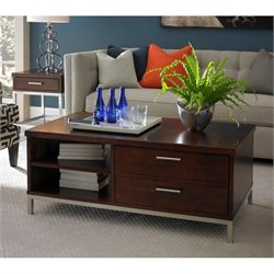 Somerton Soho Coffee Table in Dark Brown