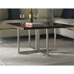 Somerton Soho Square Coffee Table in Dark Brown