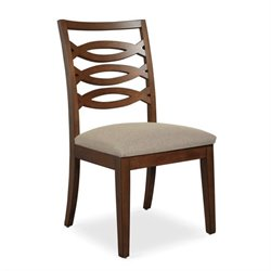 Somerton Claire de Lune Wood Back Side Chair in American Cherry