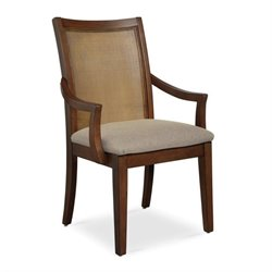 Somerton Claire de Lune Cane Arm Chair in American Cherry