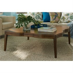 Somerton Claire de Lune Square Coffee Table in American Cherry