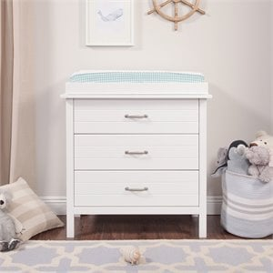 Asher 3 Drawer Changer Dresser With Changing Tray