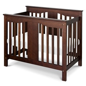Annabelle Mini 2-in-1 Convertible Wood Baby Crib