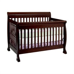 DaVinci Kalani 4-in-1 Convertible Crib with Full Bed Rails in Espresso