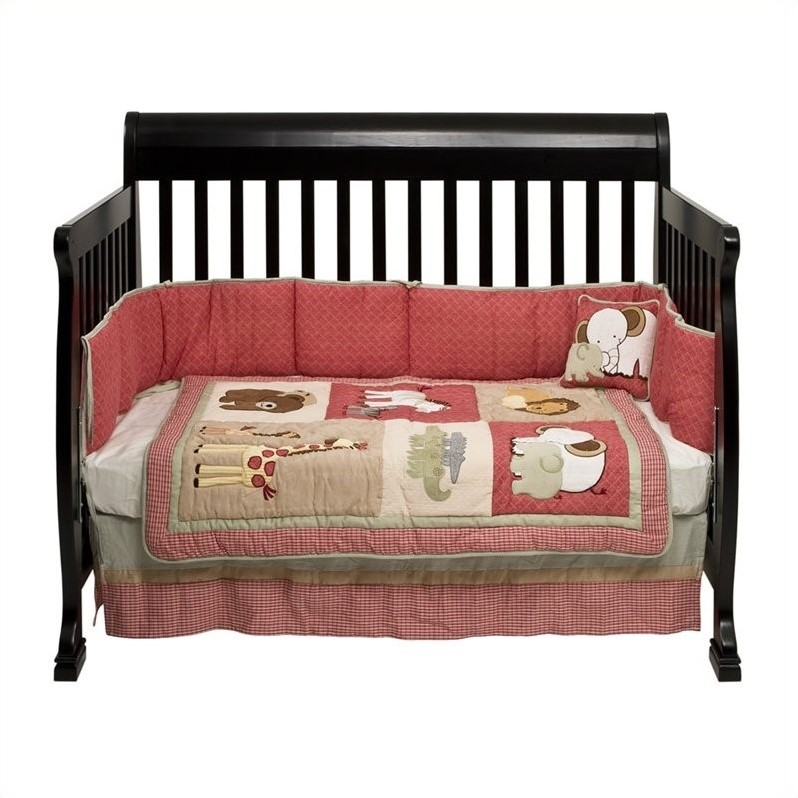 DaVinci Kalani 4-in-1 Convertible Crib with Changing Table in Ebony