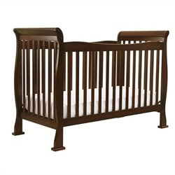 Da Vinci Reagan 4-in-1 Convertible Crib w/ Toddler Rail in Coffee