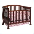 DaVinci Thompson 4-in-1 Convertible Wood Crib with Toddler Rail in Cherry