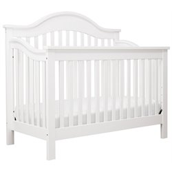 DaVinci Jayden 4-in-1 Convertible Wood Crib in Pure White
