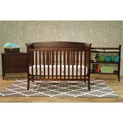 DaVinci Tyler Crib 5 Piece Set in Espresso