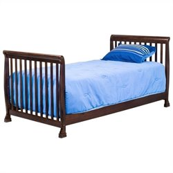 Da Vinci Kalani Kids Bed in Espresso - Full