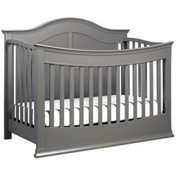 DaVinci Meadow 4-in-1 Convertible Crib with Toddler Rail in Slate