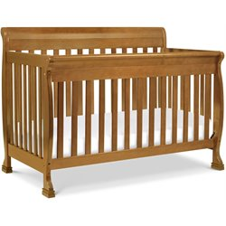 Da Vinci Kalani 4-in-1 Convertible Baby Crib with Toddler Rail in Chestnut