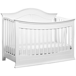 Meadow 4-in-1 Convertible Crib with Toddler Rail
