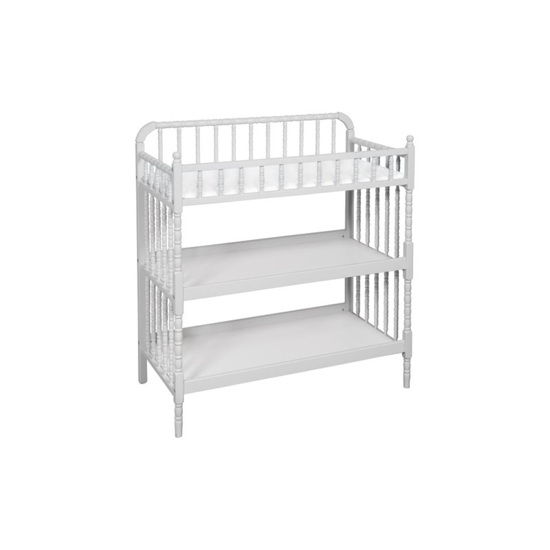 Davinci Jenny Lind Changing Table In Fog Gray M0302gg