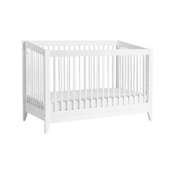 Babyletto Sprout 4-in-1 Convertible Crib in White