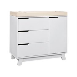 Babyletto Hudson 3 Drawer Dresser with Removable Changing Tray