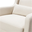 Babyletto Kai Eco-Performance Fabric Wingback Rocking Chair in Natural Eco-Twill