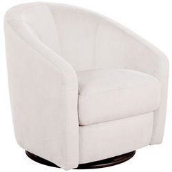 Babyletto Madison Modern Swivel Glider in Ecru